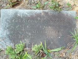 Pvt Christopher Columbus Sparks