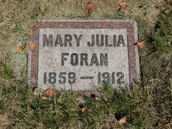 Mary Julia <I>Warren</I> Foran