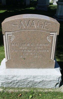 Matthew C Savage