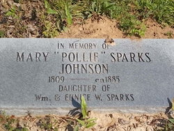 "Mary ""Pollie"" <I>Sparks</I> Johnson"