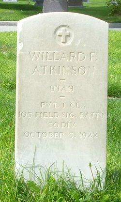 Willard Fild Atkinson