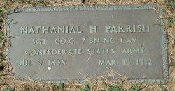 "Sgt Nathaniel Henderson ""Nat"" Parrish"