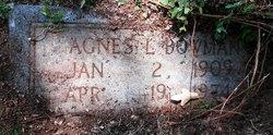 Agnes L Bowman