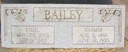 Ethel Elizabeth <I>Carter</I> Bailey