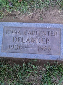 Edna M <I>Carpenter</I> Delawder