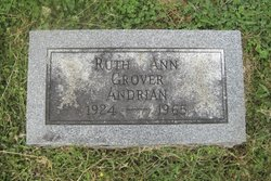 Ruth Ann <I>Grover</I> Andrian