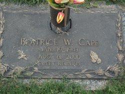 Beatrice <I>Whitaker</I> Cape