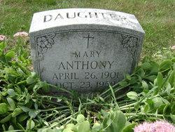 Mary Anthony