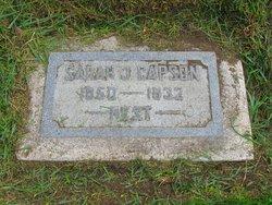 Sarah Jane <I>Ranck</I> Capson