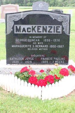 George Duncan MacKenzie