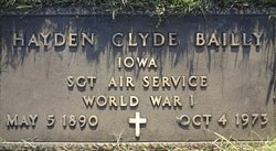 Hayden Clyde Bailey