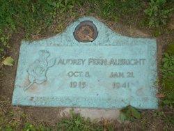Audrey Fern Albright