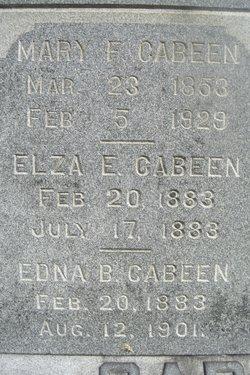 Edna Blanche Cabeen