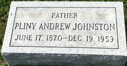 Pliny Andrew Johnston