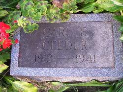 Carl Edward Ceeder