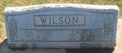 Opal <I>Thomas</I> Wilson