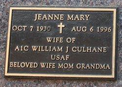 Jeanne Mary Culhane