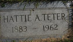 Hattie Anderson <I>Holte</I> Teter