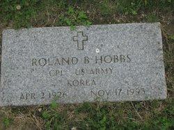 CPL Roland Bigelow Hobbs