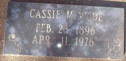 Cassie M <I>Doolittle</I> Wade