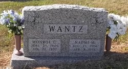 Monroe C Wantz