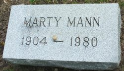 "Margaret ""Marty"" Mann"