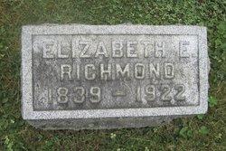 Elizabeth E. <I>Pickering</I> Richmond