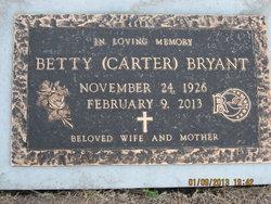 Betty Maxine <I>Carter</I> Bryant