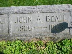 Lieut John Alexander Brooke Beall