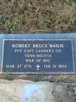 Robert Bruce Bailie, Sr