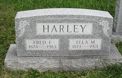 Ella M. <I>Bickel</I> Harley
