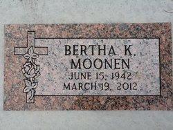 Bertha Katherine Moonen