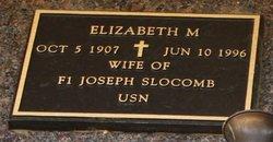 Elizabeth M Slocomb