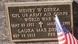 Henry W Derka