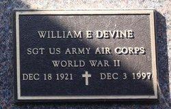 William E Devine