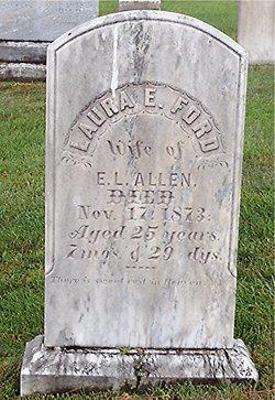 Laura Elizabeth <I>Ford</I> Allen
