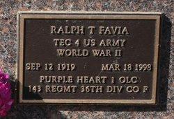Ralph T Favia