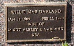 Willie Mae Garland