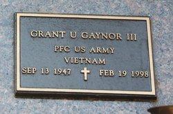 Grant U Gaynor, III