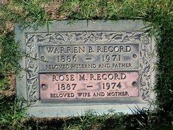 Warren B Record