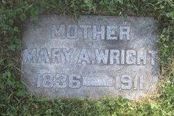Mary <I>Alderman</I> Wright