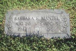 Barbara F. <I>Drummond</I> Mantel