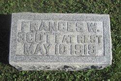 Frances <I>Whipple</I> Scott