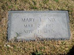 Mary Frank Nix