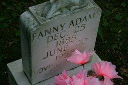 """Frances """"Fanny"""" <I>Adams</I> Adams"""