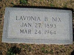 Lavonia <I>Benefield</I> Nix
