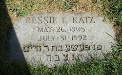 Bessie E. Katz