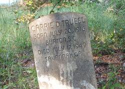 Carrie D Trueel