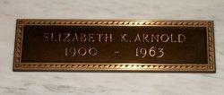 Elizabeth <I>Kirtley</I> Arnold