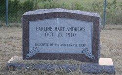 Earline <I>Hart</I> Andrews